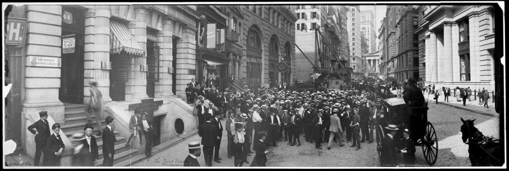 Stock Market History Curbstone Brokers 1902