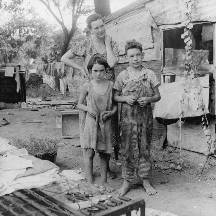 The great depression facts timeline causes pictures
